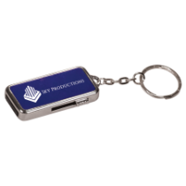 8GB Blue Anodized Aluminum USB Flash Drive