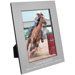 Gray Aluminum Photo Frame