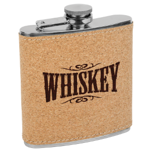 6 oz. Cork Flask