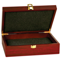 Small Rosewood Finish Gift Box