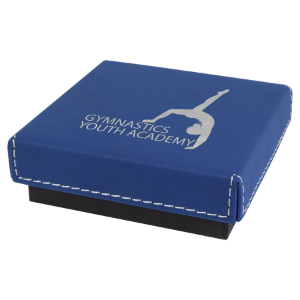 Blue/Silver Leatherette Gift Box