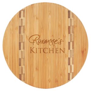 9 3/4 Round Bamboo Cutting Board