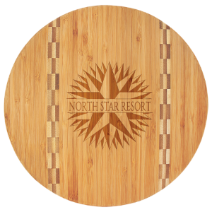 11 3/4 Round Bamboo Cutting Board