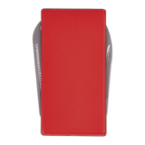 Red 3-Function Money Clip Knife, File & Money Clip