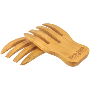 Bamboo Salad Hands Set