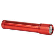 Red 7-LED Flashlight Requires 2 C Batteries