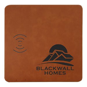 Rawhide Lasered Leatherette Wireless Phone Charging Mat