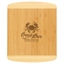Bamboo Two-Tone Cutting Board