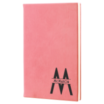 Pink Leatherette Journal