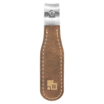 Rustic & Gold Leatherette Nail Clipper