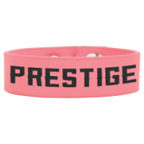 Pink Leatherette Youth Cuff Bracelet