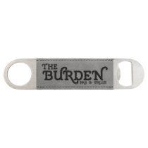 7 Gray Leatherette Bottle Opener