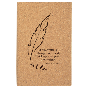 Cork Leatherette Journal