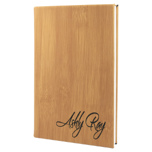 Bamboo Leatherette Journal