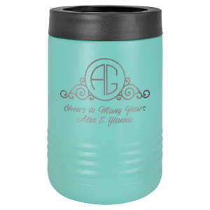 Teal Polar Camel Insulated Beverage Holder