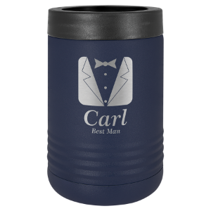 Navy Blue Polar Camel Insulated Beverage Holder