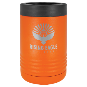 Orange Polar Camel Insulated Beverage Holder