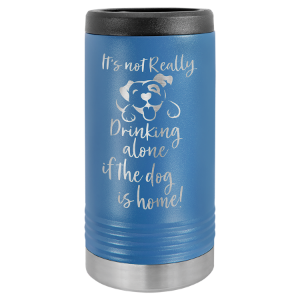 Royal Blue Polar Camel Slim Beverage Holder