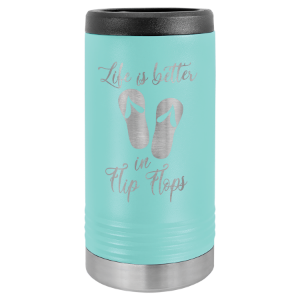 Teal Polar Camel Slim Beverage Holder
