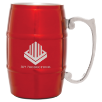 17 oz. Red Barrel Mug with Handle