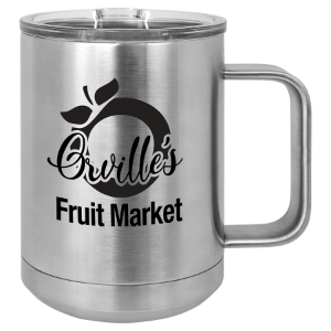 Stainless Steel 15 oz. Polar Camel Coffee Mug with Slider Lid