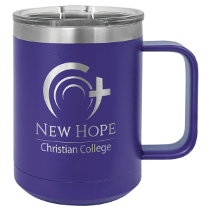 Purple 15 oz. Polar Camel Coffee Mug with Slider Lid