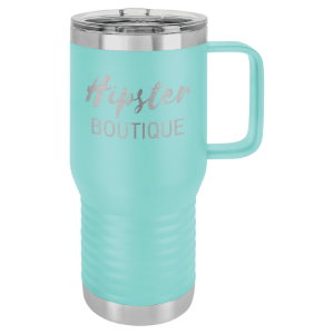 Teal Polar Camel 20 oz. Vacuum Insulated Travel Mug with Slider Lid