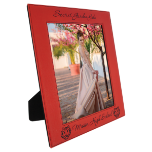 8 x 10 Red Leatherette Photo Frame