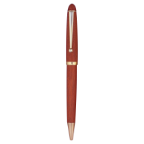Rosewood Finish Pencil with Gold Trim