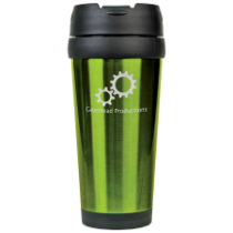 16 oz. Gloss Green Travel Mug