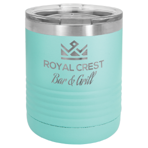 Teal 10 oz. Polar Camel Ringneck Tumbler with Clear Lid