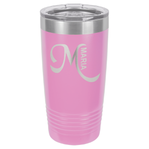 20 oz. Light Purple Polar Camel Insulated Ringneck Tumbler with Clear Lid