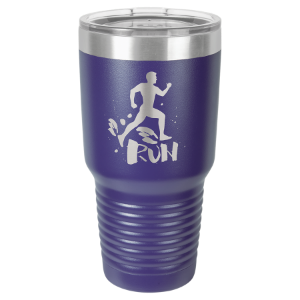 Purple 30 oz. Polar Camel Ringneck Tumbler with Clear Lid
