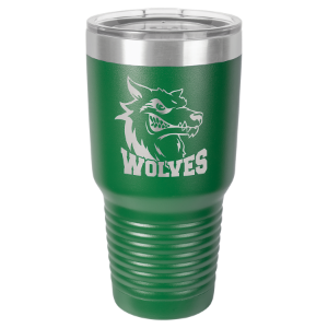 30 oz. Green Polar Camel Ringneck Insulated Tumbler with Clear Lid