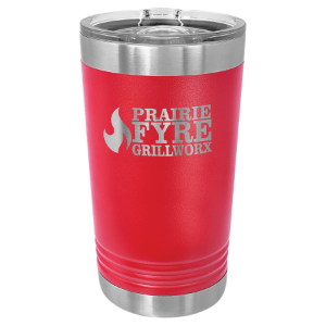Red 16 oz Polar Camel Pint Tumbler with Slider Lid