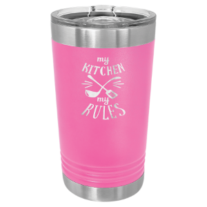 Pink 16 oz Polar Camel Pint Tumbler with Slider Lid