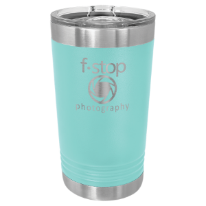Teal 16 oz Polar Camel Pint Tumbler with Slider Lid