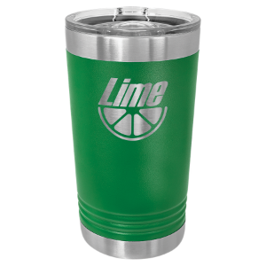 Green 16 oz Polar Camel Pint Tumbler with Slider Lid
