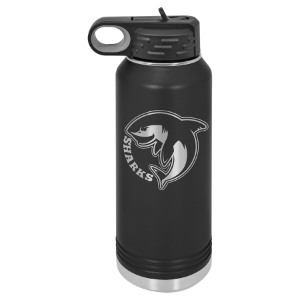 Black 32 oz. Polar Camel Water Bottle