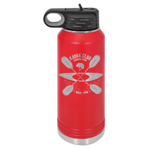 Red 32 oz. Polar Camel Water Bottle