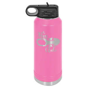 Pink 32 oz. Polar Camel Water Bottle