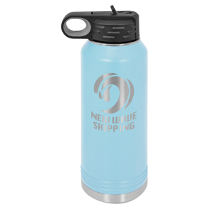 Light Blue 32 oz. Polar Camel Water Bottle