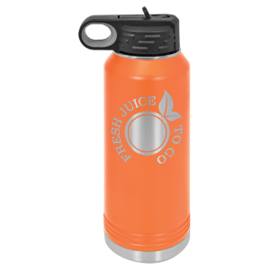 Orange 32 oz. Polar Camel Water Bottle