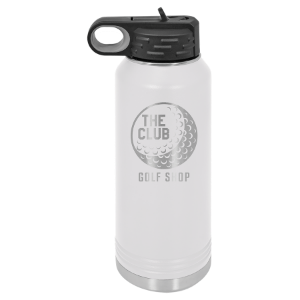 White 32 oz. Polar Camel Water Bottle