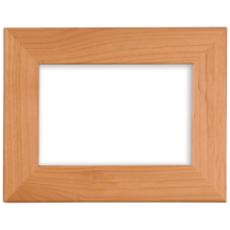 3 1/2 x 5 Red Alder Photo Frame