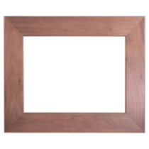 8 1/2 x 11 Genuine Walnut Picture Frame