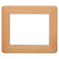 8 x 10 Round Corner Genuine Red Alder Picture Frame