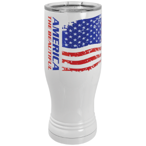 Sublimatable White 20 oz. Polar Camel Pilsner Tumbler
