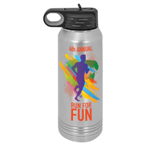 30 oz. Polar Camel Stainless Steel Full Color Water Bottle