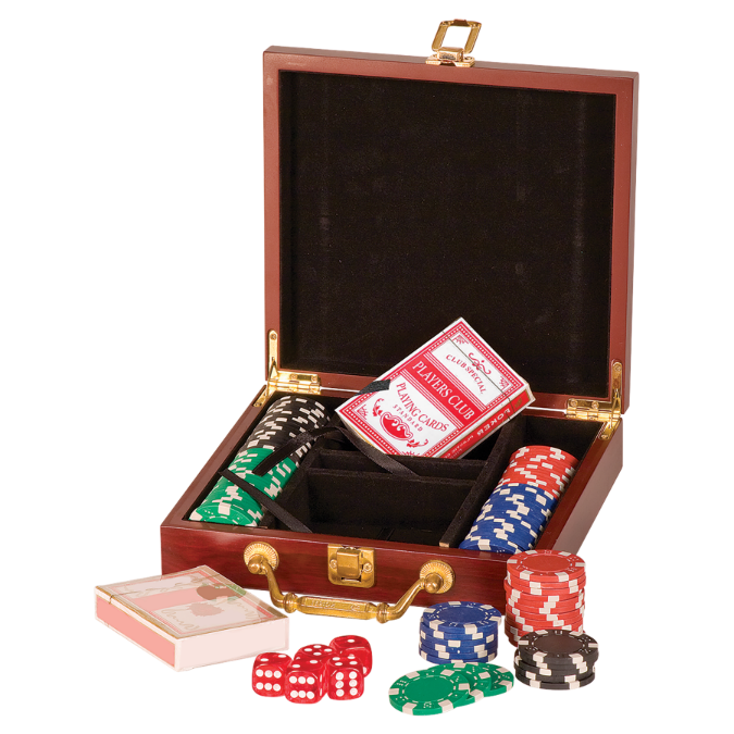 100 Chip Poker Set